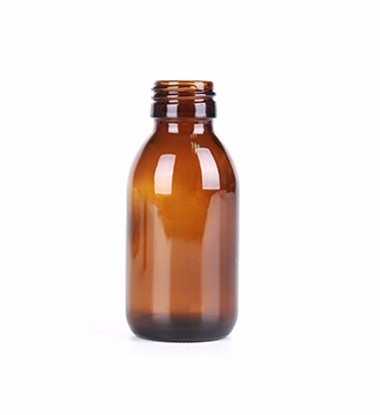 100ml Amber Glass Bottle For Syrup