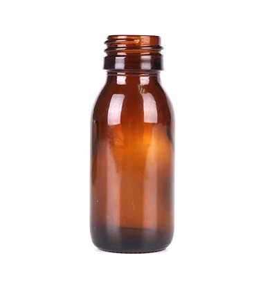 60ml Amber Glass Bottle For Syrup