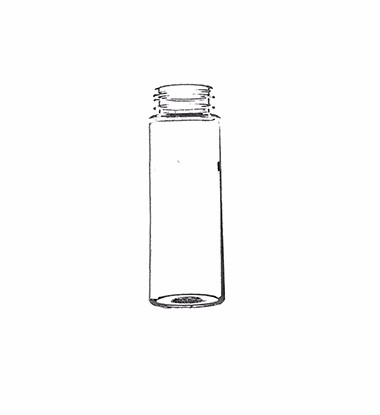 400ml glass water bottle with many plastic lids