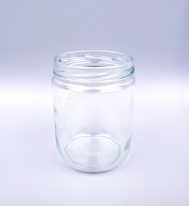 ****ml Clear Wide-mouth Glass Jars